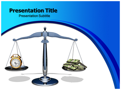Time Is Money Idioms Powerpoint Templates