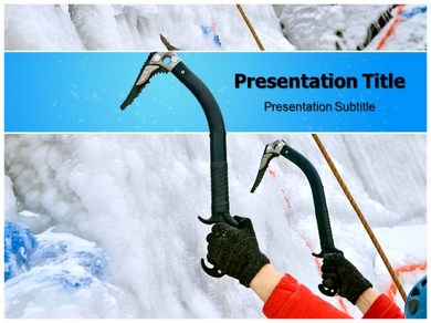 Ice Axe Powerpoint Templates