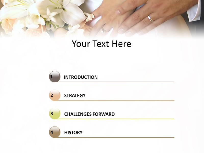 Marriage Powerpoint Templates
