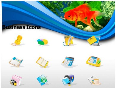 Fish Hook Powerpoint Templates