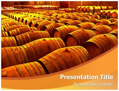 Barrel Powerpoint Templates