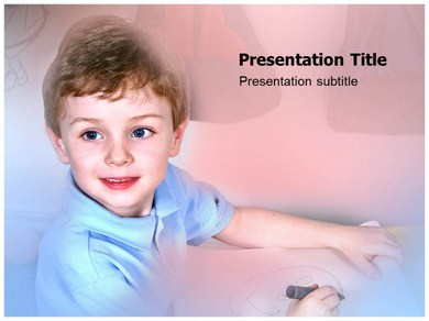 Pre School Learning Powerpoint Templates