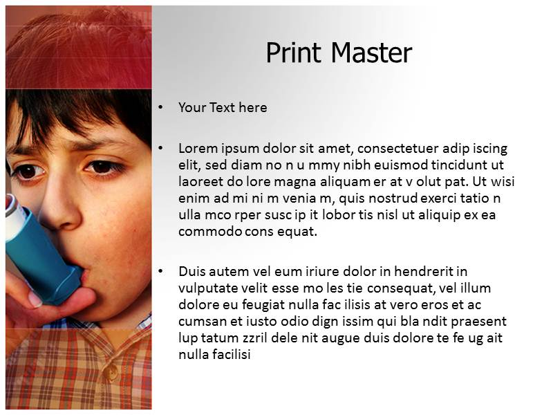 Inhaler Templates For Powerpoint