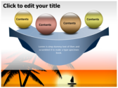 Sunrise powerpoint theme templates