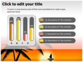 Sunrise powerpoint theme professional