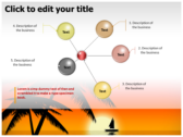 Sunrise background PowerPoint Templates