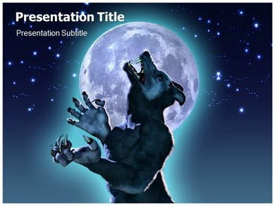 MONSTER Powerpoint Templates