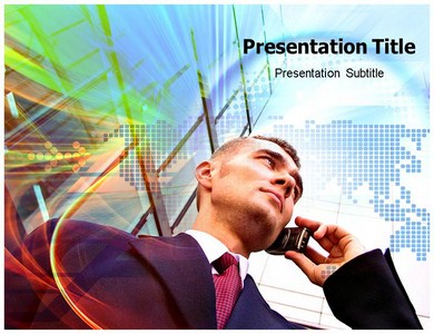 Wireless Communication Powerpoint Templates