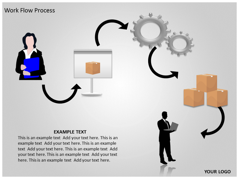 Work Flow Process Powerpoint Template Work Flow Process Ppt