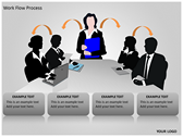 Work Flow Process powerpoint template download