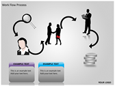 Work Flow Process slides for powerpoint
