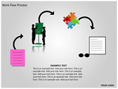 Work Flow Process background PowerPoint Templates