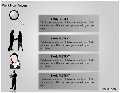Work Flow Process Powerpoint Templates