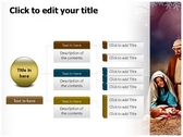 Nativity ppt themes template