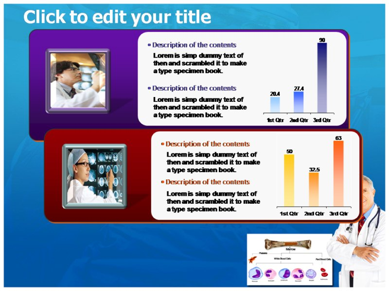 Acute Lymphocytic Leukemia Powerpoint Templates