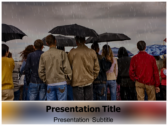 Wet Season powerPoint template