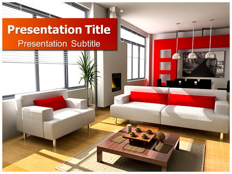 Interior Design Elements Powerpoint Templates Powerpoint