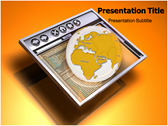 Browsing Internet powerPoint template