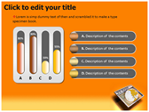 Browsing Internet powerpoint theme professional
