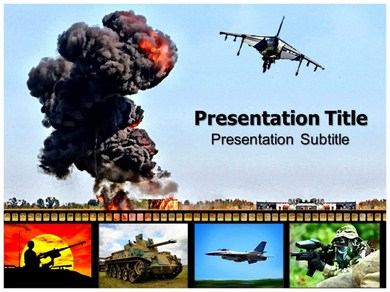 Aerial Bombardment and law Powerpoint Templates
