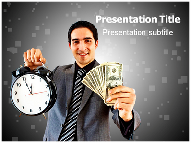Time Is Money Quote Powerpoint Templates