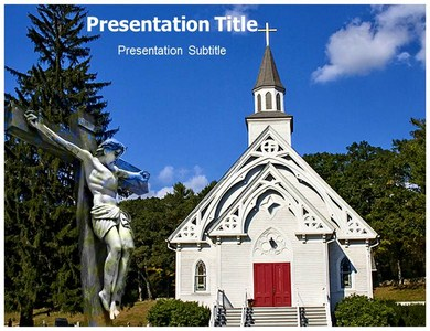 Death Of Christian Culture Powerpoint Templates