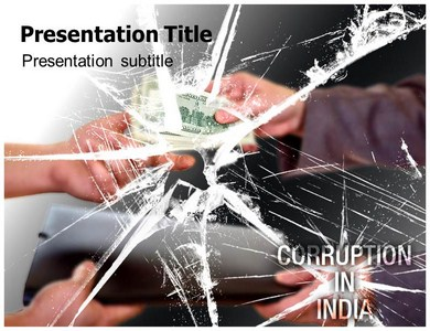 Corruption In India Powerpoint Templates