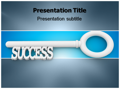Key Success Powerpoint Templates