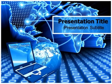 Data Communication and Networking Powerpoint Templates