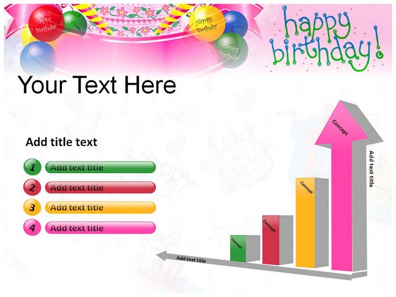 Happy Birthday Cards Powerpoint(PPT) Template | Birthday Powerpoint ...: www.slideworld.com/ppt_templates/Download-powerpoint-templates.aspx...