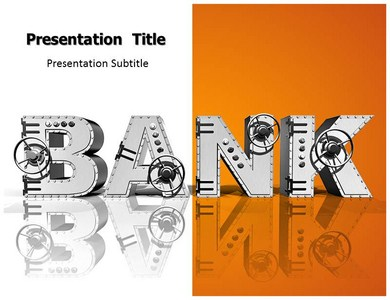 bank (ppt) powerpoint templates | bank powerpoint templates, Powerpoint templates
