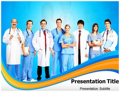 Doctor Team Management Powerpoint Templates