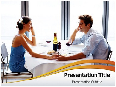 Couple date Powerpoint Templates