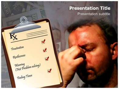 Chronic Stress Powerpoint Templates