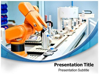 Automation Robotics Powerpoint Templates