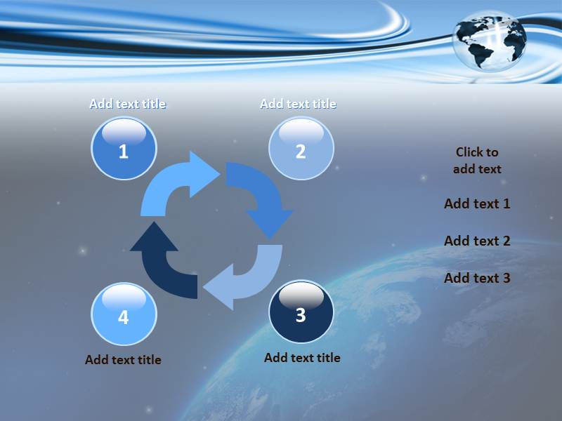 Globalization Process Powerpoint Templates