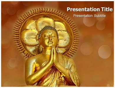 Buddhism History Powerpoint Templates