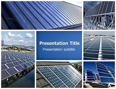 solar energy panels (ppt)powerpoint template | solar energy ppt, Powerpoint templates