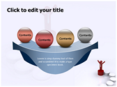 Success Ladder powerpoint theme templates