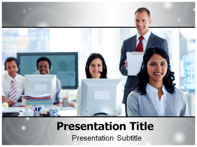 Supervisor and Team Powerpoint Templates