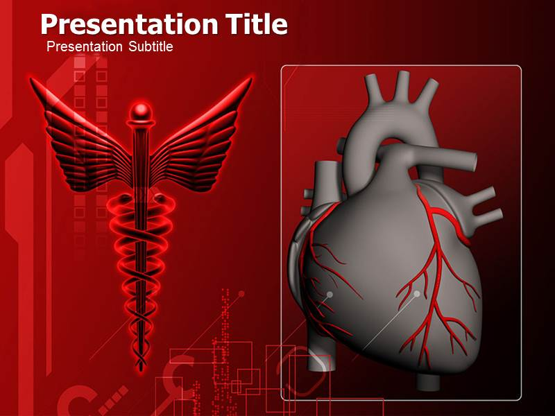 Human Heart Powerpoint Templates