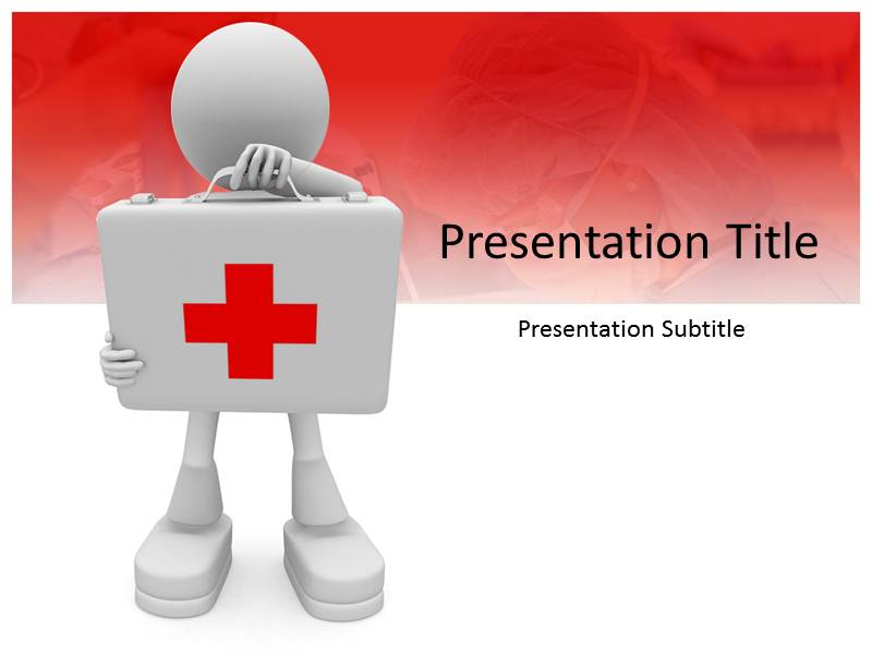 First Aid Ppt Template First Aid Background For Powerpoint