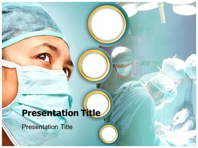 Medical Surgeon Powerpoint Templates