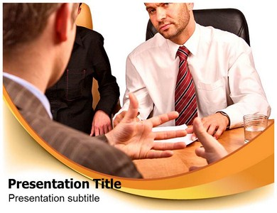 Discussion Groups Powerpoint Templates