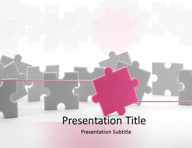 Puzzle 3 Powerpoint Templates
