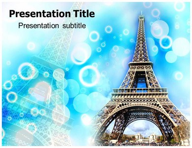 Eiffel Tower Pictures Powerpoint Templates