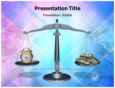 Time Is Money Phrase Powerpoint Templates