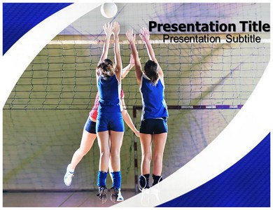 Volleyball Powerpoint Templates