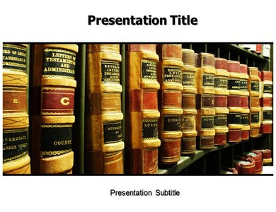 Law Powerpoint Templates