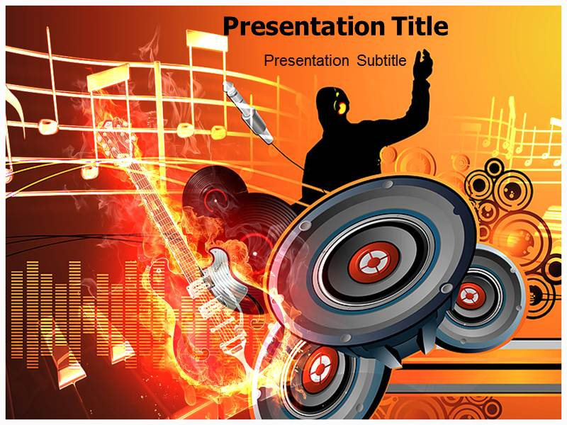 Musical Instruments Powerpoint Templates